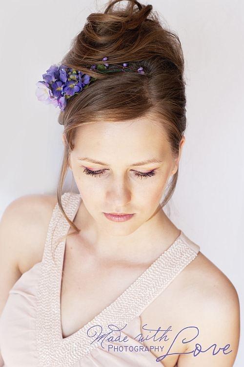 violet primulas