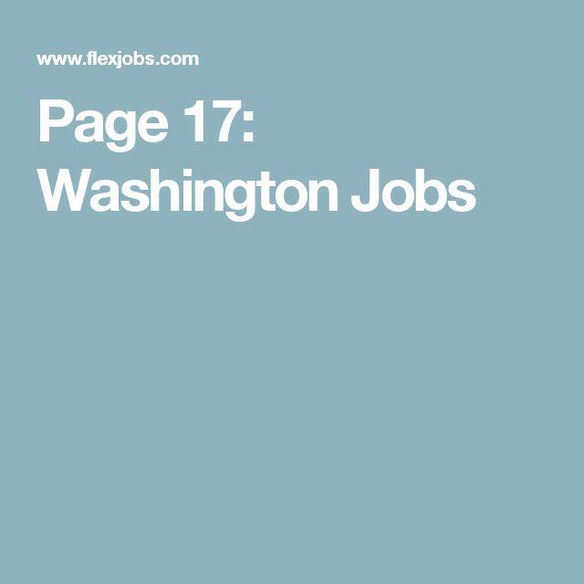Page 17: Washington Jobs