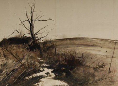 Andrew Wyeth - 'End of Winter' 1946