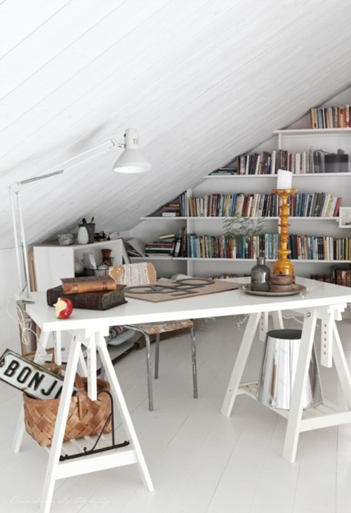 Home Office Design Ideas. Dachbodenrenovierung