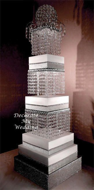 wedding cake stands with crystals 17 best images about bling rhinestone on 25676