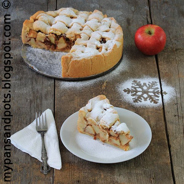 Lazy Apple Pie (website is in Croatian, with English version below)