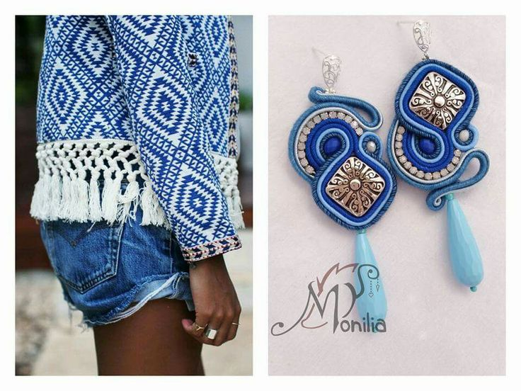 promo - jew. with a matching pic. #simona #rotaris #soutache