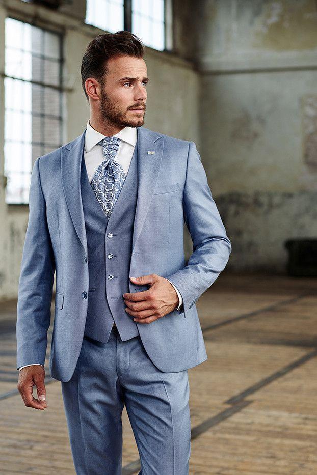 2019 5Heren Immediate Trouwpak 18 Kostuums In Blue n0w8OPk