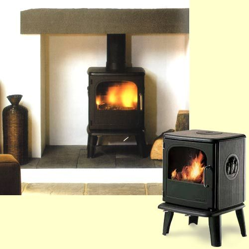 The Morso Owl uses the new state of the tertiary combustion system from Morso. This multifuel stove is a super efficient cleanburning stove, and the flames dance behind the large airwashed glass window. The flames really do look very different, appearing to hang in the air.