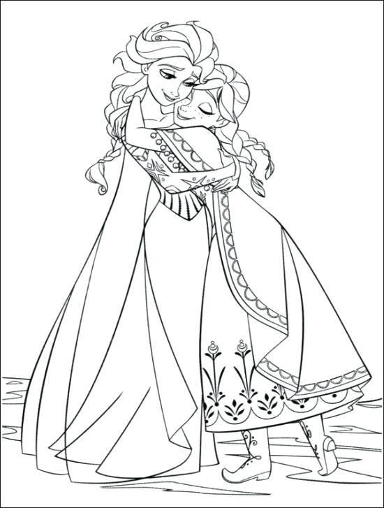 Free Printable Disney Frozen Colouring Pages Gallery Coloring Ideas