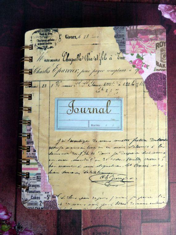 how to make spiral bound journals