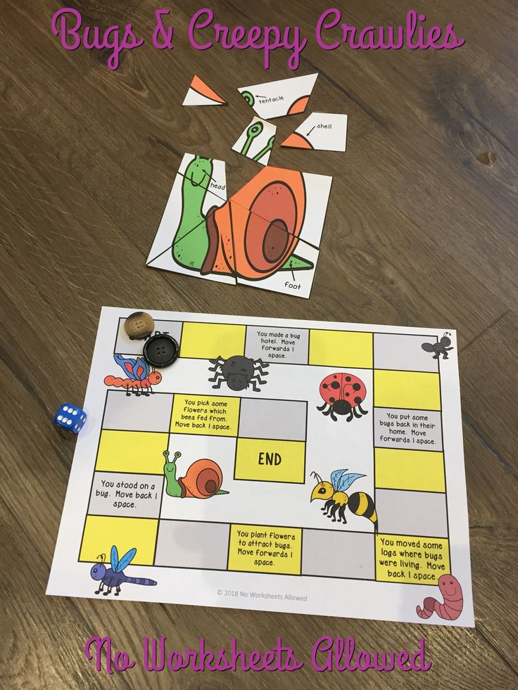 Fun minibeast investigation and activity unit!