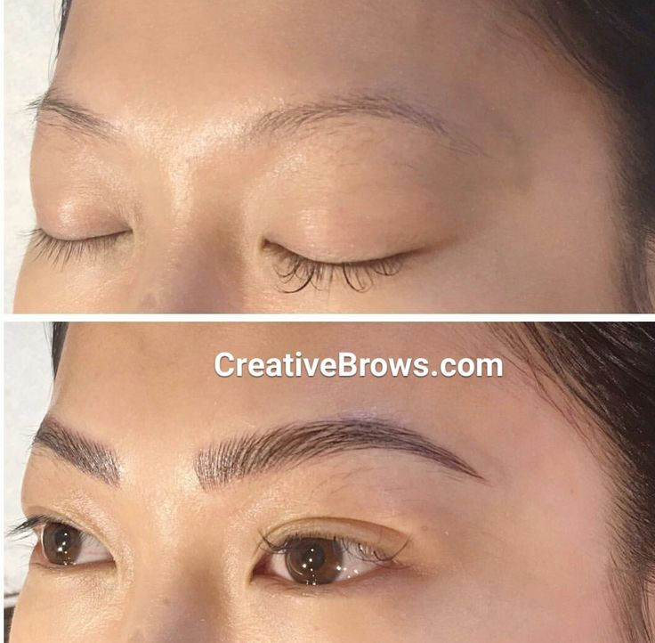 103 best tattooed eyebrows images on pinterest eye brows for Eyebrow tattoo microblading
