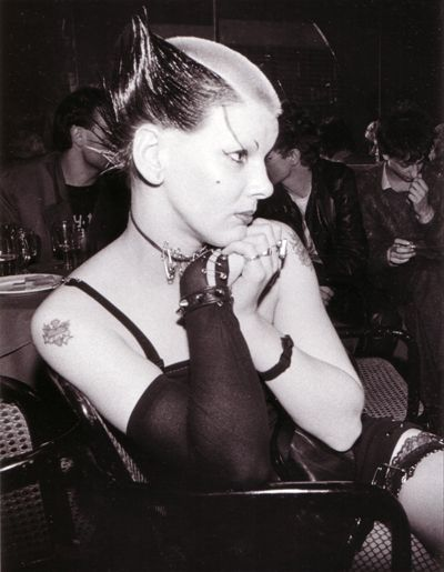 Soo Catwoman 1976 Photo By Bob Gruen