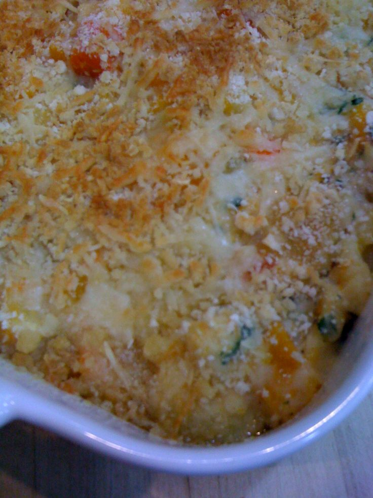 Root Vegetable Gratin with Sauce Mornay