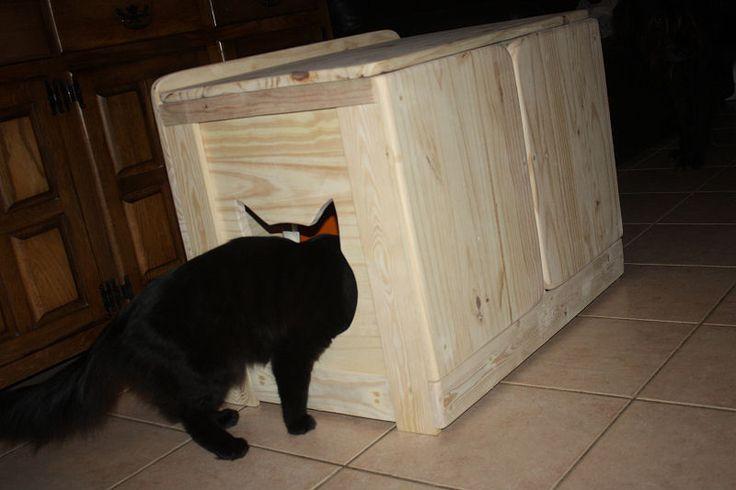 les 25 meilleures id es de la cat gorie meuble litiere chat sur pinterest cacher les liti res. Black Bedroom Furniture Sets. Home Design Ideas