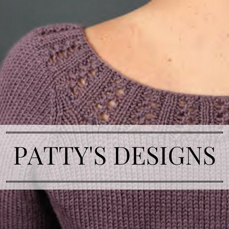 Find all of my published knitting patterns on my website, PattyLyons.com.