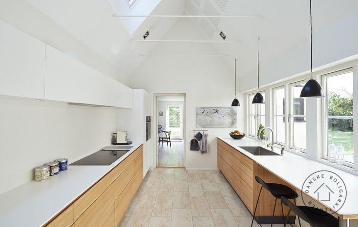 Køkkenet er det nye centrum i huset