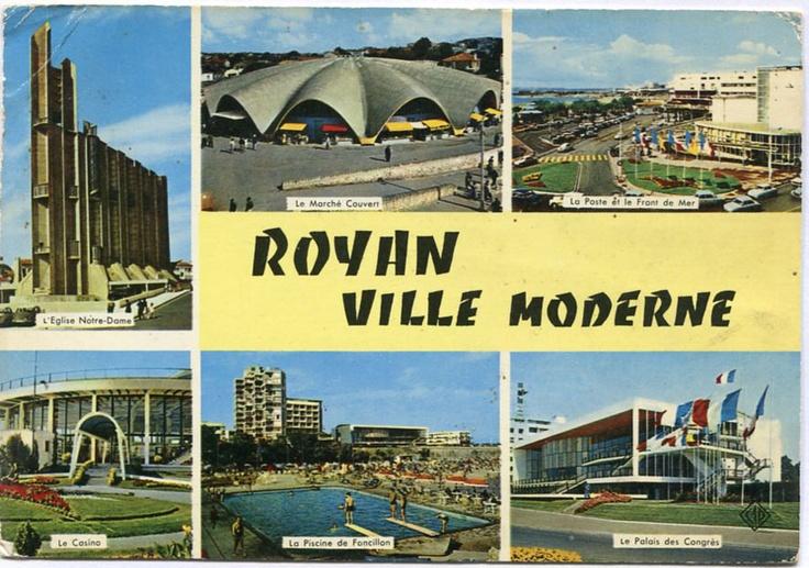 Les 43 meilleures images du tableau royan ann es 50 sur for Construction piscine royan