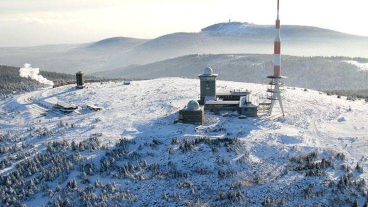 Der Brocken-Gipfel