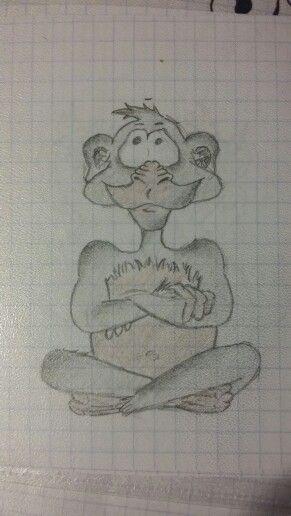 A monkey ♡