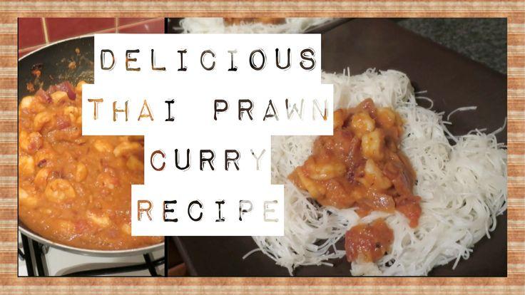Easy & Healthy Thai Prawn Curry   ohhitsonlyalice