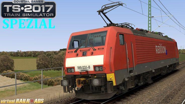 Train Simulator 2017 Spezial [60FPS] - vR BR 189 EL von virtualRailroads...