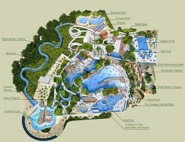Wf Stsp Map Center Parcs The Subtropical Swimming Paradise Pinterest Swimming Maps And
