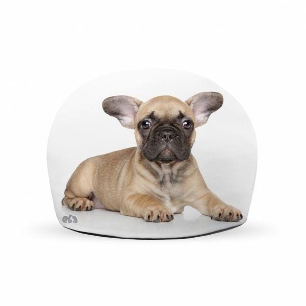 Peso de Porta Bulldog Francês Marrom - Loja Ula lá