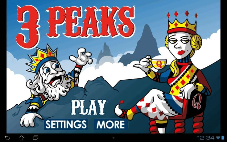 Challenging, addictive, and fun - just a few words that capture the game of Three Peaks Solitaire. This race against the clock card-game will have you strategizing and scheming to win the round.<br><br>The perfect game for your Android phone or tablet, Three Peaks Solitaire will help you pass the time when standing in line, riding the bus or subway, or just help you keep boredom away.<br><br>Three Peaks Solitaire is a twist on solitaire that challenges you to clear the peaks of cards before…