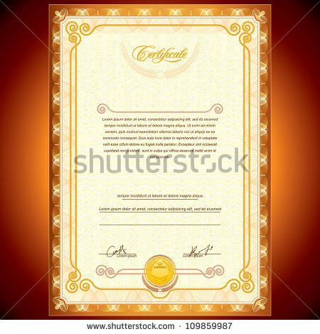The 25+ best Certificate background ideas on Pinterest - certificate layout