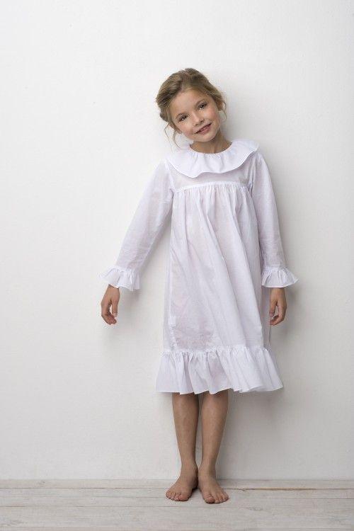 White nightgown - Sainte Claire