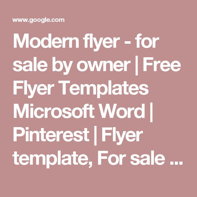 Více než 25 nejlepších nápadů na Pinterestu na téma Free Templates - flyer templates for microsoft word