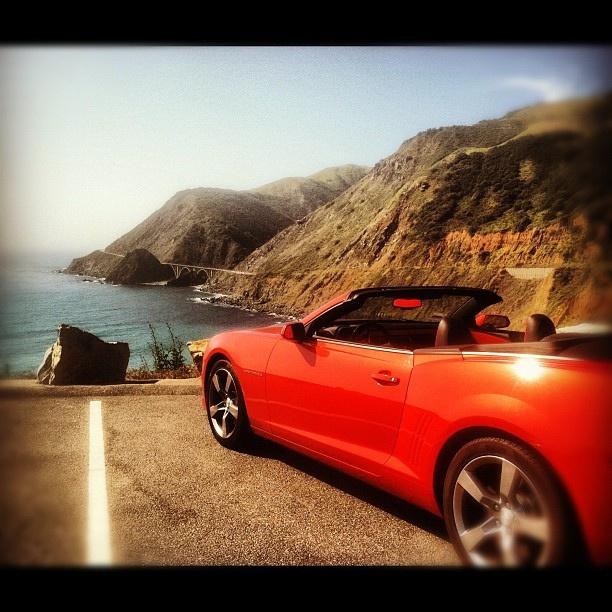 My trip to Big Sur with my CamaroFavorite Places, Big Sur