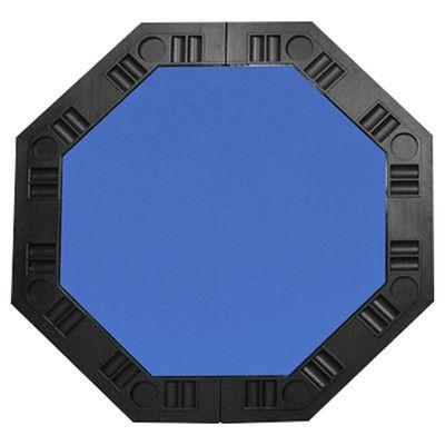 "Trademark Global 48"" Poker Table Top - Blue"