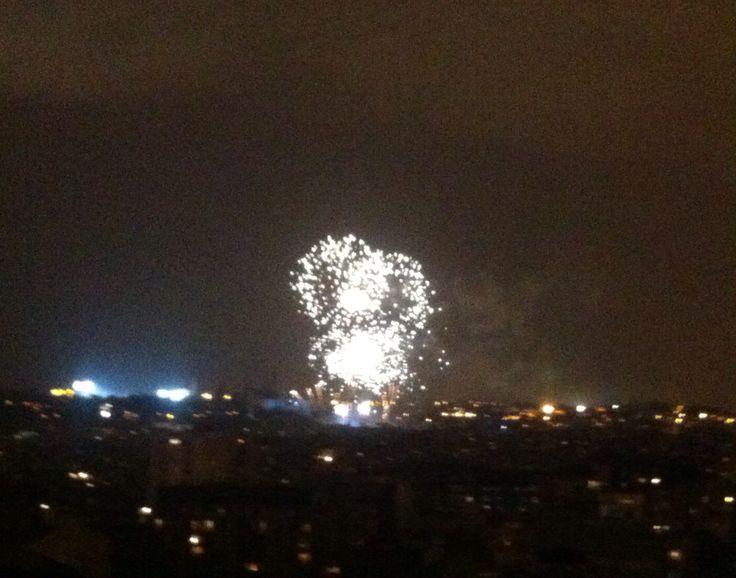 La Mercè festivities closing fireworks!