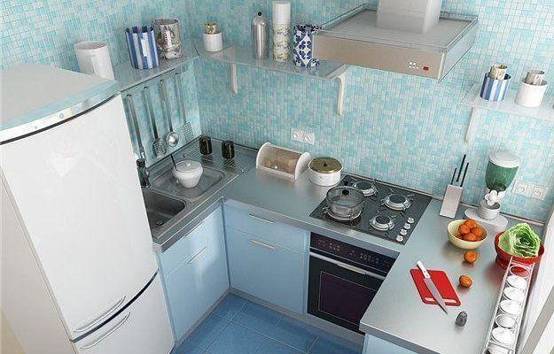 Как оформить небольшую кухню: 8 принципов и идей   Свежие идеи дизайна интерьеров, декора, архитектуры на InMyRoom.ru