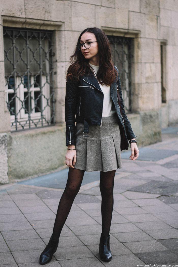 VIPARO Black Quilted Lambskin Leather Biker Jacket - Adrienne, Fashioncuisine.