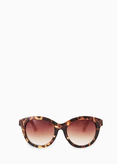 Ronde zonnebril