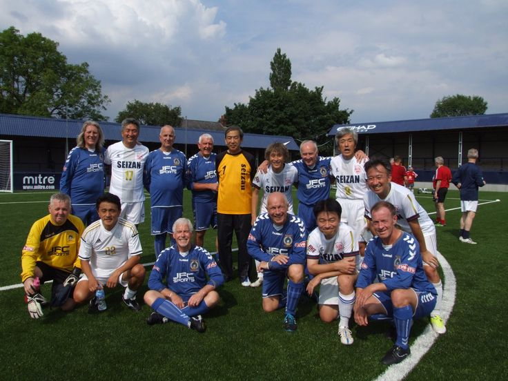 New #walkingfootball Gallery Pic Uploaded -  Group shot at Hyde United's Ewen Fields