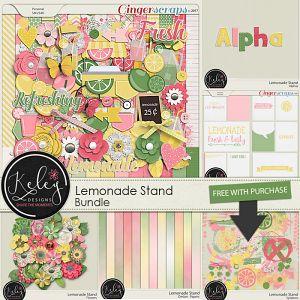 Lemonade Stand Bundle by Keley Designs