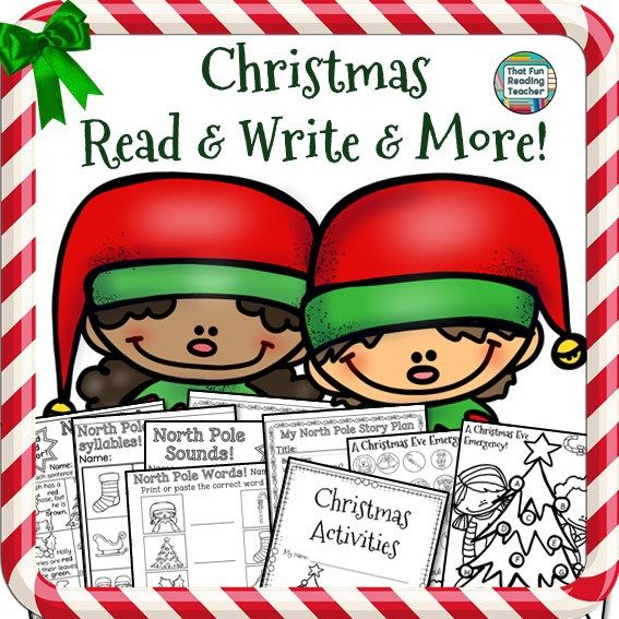 Christmas Read and Write and More! K-2 $