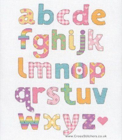 A To Z Alphabet Sampler Cross Stitch Kit by Anchor