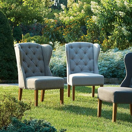 greyson charcoal dining chair with weathered oak leg