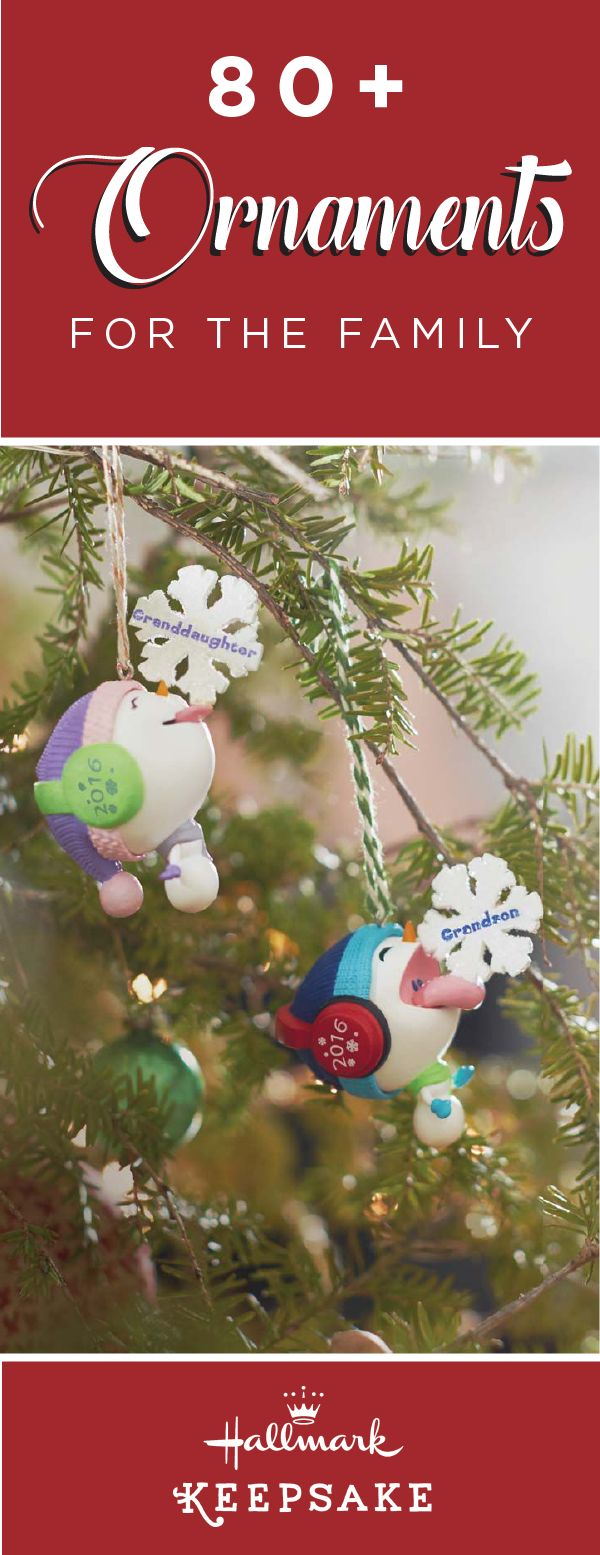 Hallmark family tree ornaments - Give Each Member Of Your Family A Special Gift This Christmas Season With These Fun And