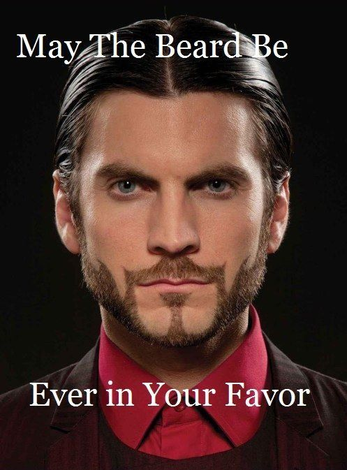 hunger games, beard, Wes Bentley