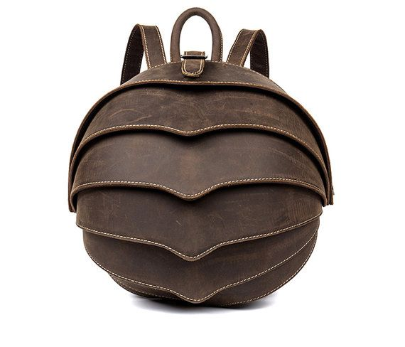 what a distinctive and stylish leather backpack, its tough enough for a man to use daily. Unusual Beetle Leather Bag. Insect art. Fun and by EverydayCarryAU