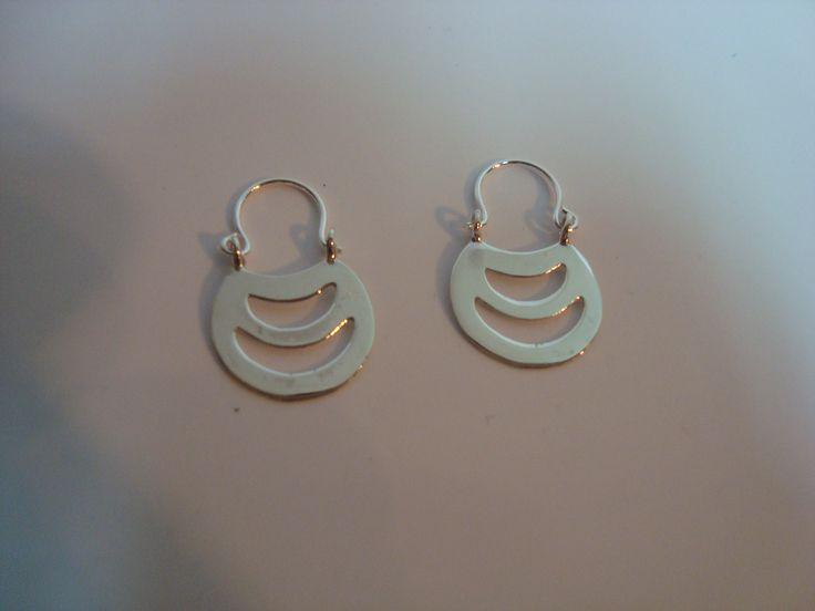 Aros (Chawai) de plata Valor: $7.900