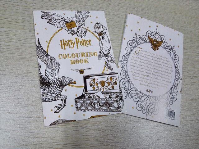 Гарри Поттер Книжка-Раскраска, книги для Детей взрослых секретный сад Серии Убить Время Живопись Рисунок Книги 16 Страниц