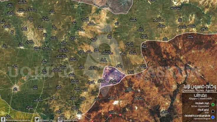 #Map: the latest developments in northern countryside of Aleppo #Syria #ISIS #FSA #Opposition #ISIL #Aleppo