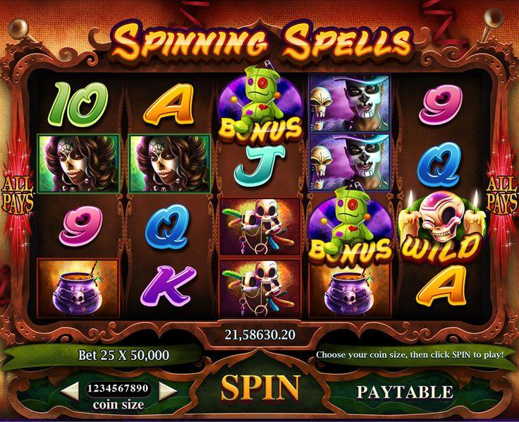 Slot games art on Behance