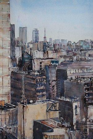Tokyo Skyline from Shibuya