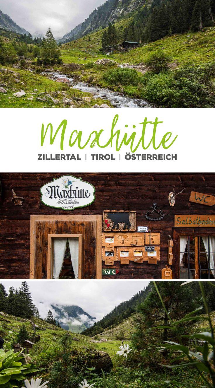 Wanderung zur Maxhütte im Zillertal, Tirol, Österreich   Austria |Mayrhofen