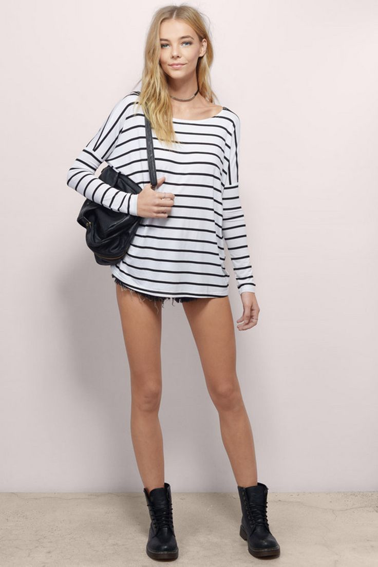 Simple-Classic-Striped-shirt-